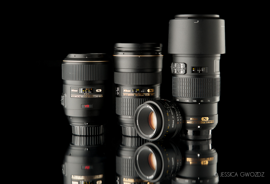 Nikon Lenses, Bellingham WA Product Photographer