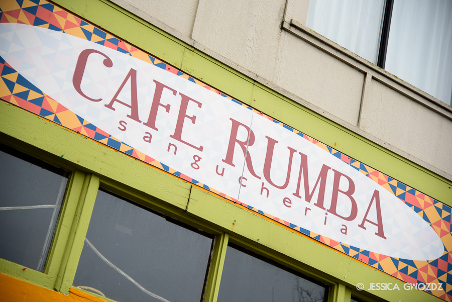 Cafe Rumba in Bellingham, photographed by Jessica Gwozdz
