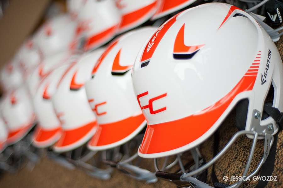 Sofball helmets, Photo by Jessica Gwozdz